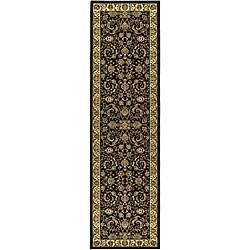 "Safavieh Lyndhurst Traditional Oriental Black/ Ivory Runner Rug (2'3"" x 8')"