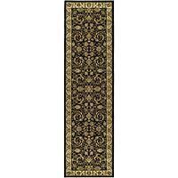 "Safavieh Lyndhurst Traditional Oriental Black/ Ivory Runner Rug - 2'3"" x 8'"