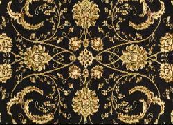 Safavieh Lyndhurst Traditional Oriental Black/ Ivory Rug (8' Round) - Thumbnail 2