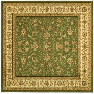 Safavieh Lyndhurst Traditional Oriental Sage/ Ivory Rug (6' Square)