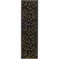 Safavieh Lyndhurst Traditional Oriental Black Runner (2'3 x 8')