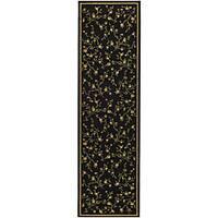 Safavieh Lyndhurst Traditional Oriental Black Runner (2'3 x 8')