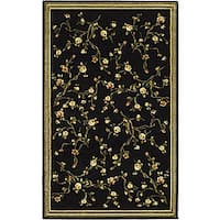 "Safavieh Lyndhurst Traditional Oriental Black Rug - 3'-3"" X 5'-3"""