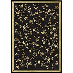 Safavieh Lyndhurst Traditional Oriental Black Rug (5'3 x 7'6)