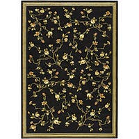 Safavieh Lyndhurst Traditional Oriental Black Rug - 5'3 x 7'6