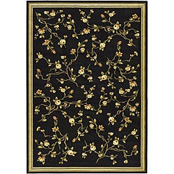 Safavieh Lyndhurst Traditional Oriental Black Rug (8' x 11')