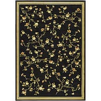 Safavieh Lyndhurst Traditional Oriental Black Rug - 8' x 11'