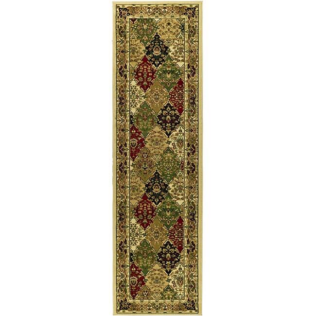 Safavieh Lyndhurst Traditional Oriental Multicolor/ Ivory Runner Rug - 2'3 x 12'