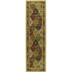 Safavieh Lyndhurst Traditional Oriental Multicolor/ Ivory Runner (2'3 x 12') - Thumbnail 0
