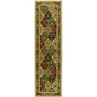 Safavieh Lyndhurst Traditional Oriental Multicolor/ Ivory Runner Rug - 2'3 x 12'