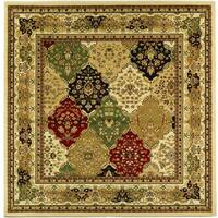 Safavieh Lyndhurst Traditional Oriental Multicolor/ Ivory Rug - 6' Square