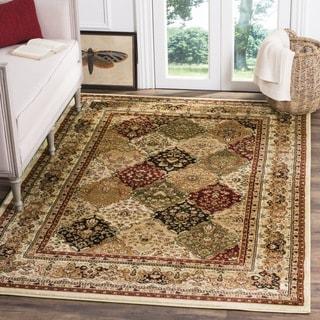 Safavieh Lyndhurst Traditional Oriental Multicolor/ Ivory Rug (8' Square)