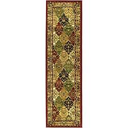 Safavieh Lyndhurst Traditional Oriental Multicolor/ Red Runner (2'3 x 12')