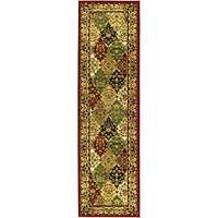 Safavieh Lyndhurst Traditional Oriental Multicolor/ Red Runner Rug - 2'3 x 12'