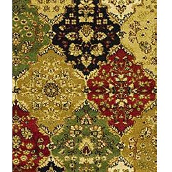 Safavieh Lyndhurst Traditional Oriental Multicolor/ Red Runner (2'3 x 14') - Thumbnail 2