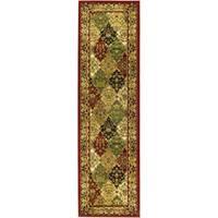 Safavieh Lyndhurst Traditional Oriental Multicolor/ Red Runner Rug - 2'3 x 8'