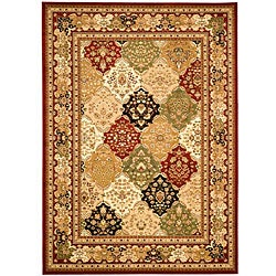 Safavieh Lyndhurst Traditional Oriental Multicolor/ Red Rug (8' x 11')