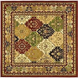 Safavieh Lyndhurst Traditional Oriental Multicolor/ Red Area Rug (6' Square)