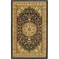 Safavieh Lyndhurst Traditional Oriental Black/ Ivory Rug - 3'3 x 5'3
