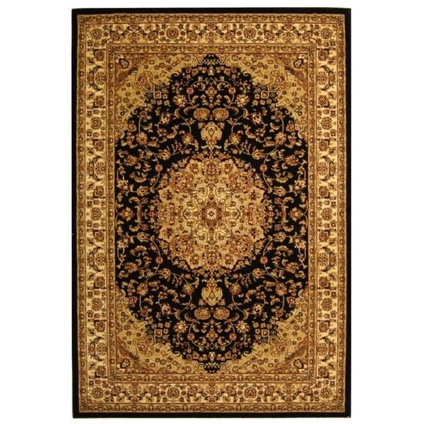 "Safavieh Lyndhurst Traditional Oriental Black/ Ivory Rug - 5'3"" x 7'6"""