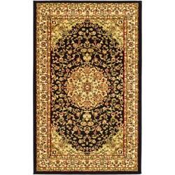Safavieh Lyndhurst Traditional Oriental Black/ Ivory Rug - 8' x 11' - Thumbnail 0