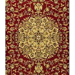 Safavieh Lyndhurst Traditional Oriental Red/ Ivory Runner (2'3 x 8') - Thumbnail 2