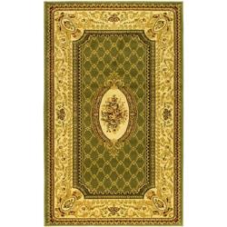 Safavieh Lyndhurst Traditional Oriental Sage/ Ivory Rug (5'3 x 7'6)