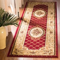 "Safavieh Lyndhurst Traditional Oriental Red/ Ivory Runner - 2'-3"" x 8'"