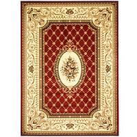 Safavieh Lyndhurst Traditional Oriental Red/ Ivory Rug - 5'3 x 7'6