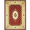 Safavieh Lyndhurst Traditional Oriental Red/ Ivory Rug - 8' x 11'