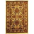 Safavieh Handmade Classic Jaipur Gold Wool Rug (8'3 x 11') - 8'3 x 11'