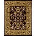 Safavieh Handmade Classic Regal Burgundy/ Gold Wool Rug - 9'6 x 13'6