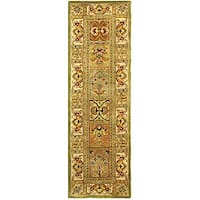 "Safavieh Handmade Classic Empire Wool Panel Runner Rug - 2'3"" x 14'"