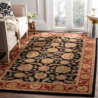 "Safavieh Handmade Classic Heirloom Navy/ Red Wool Rug - 9'6"" x 13'6"""