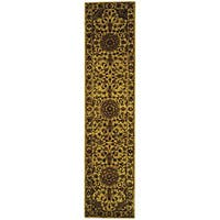 Safavieh Handmade Classic Birjand Ivory Wool Runner Rug - 2'3 x 8'