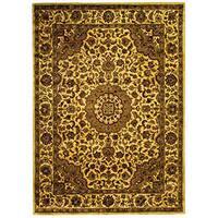 Safavieh Handmade Classic Birjand Ivory Wool Rug (6' x 9')