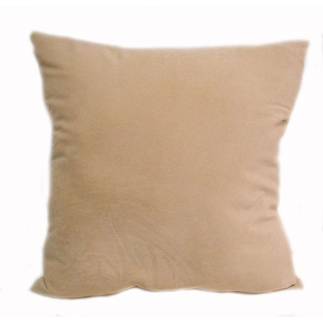 Jaguar 24-inch Bone-color Floor Pillow