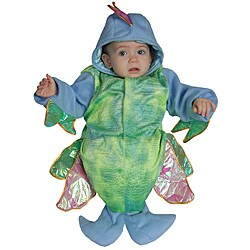 Infant Boy's Iridescent Fish Costume