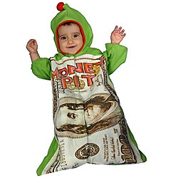 Infant Boy's Money Pit Costume