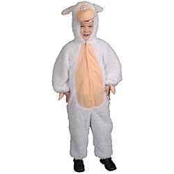 Toddler Boy's Plush Lamb Costume