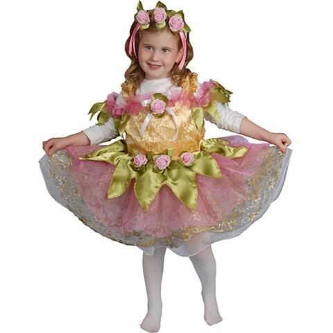 Girl's Graceful Ballerina Costume