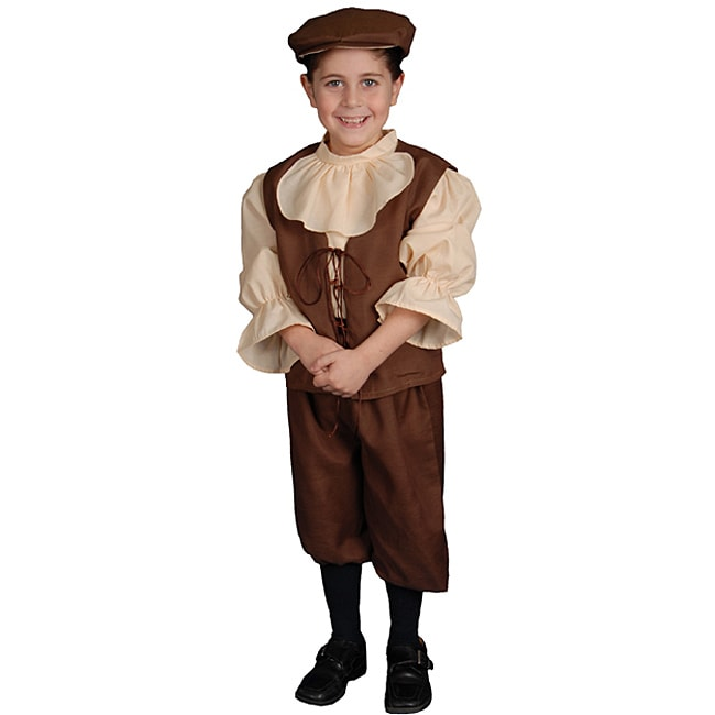 Dress Up America Traditional Colonial Boy Costume (Coloni...