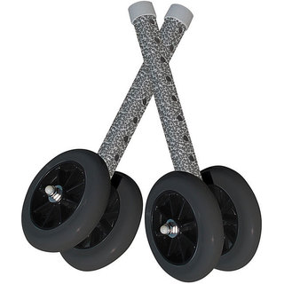 Drive Heavy-duty Bariatric Walker Wheels Pair