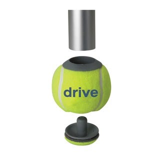 Drive Replacement Tennis Ball Glide Pads (Pack of 2)