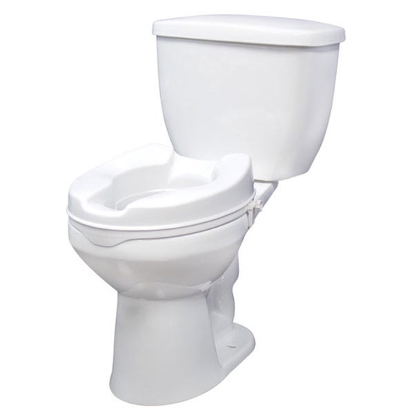 Shop Drive Medical Raised Toilet Seat With Lock Standard