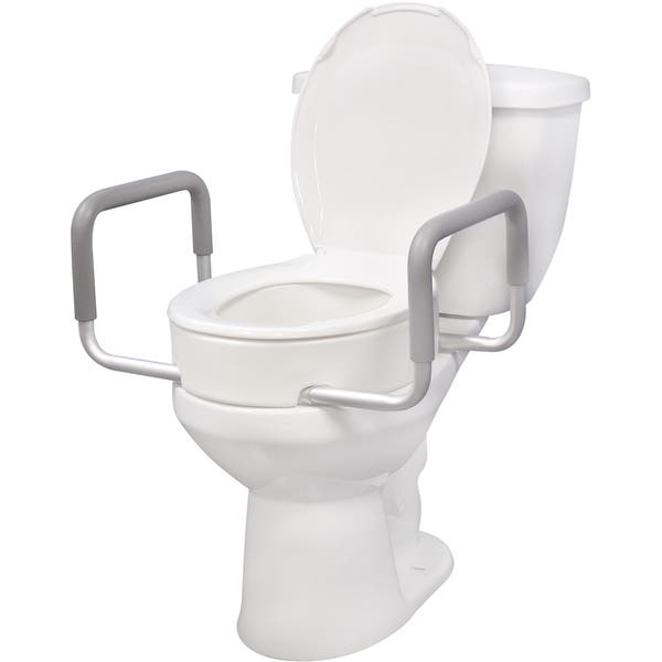 Superb Shop Drive Medical Premium Seat Riser For Standard Toilet Caraccident5 Cool Chair Designs And Ideas Caraccident5Info