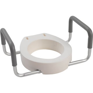 Drive Premium Seat Riser for Standard Toilet with Removable Arms