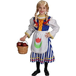Girl's Dutch Girl Costume