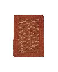 Donegal Indoor/ Outdoor Barn Red Braided Rug (8' x 11') - Thumbnail 1
