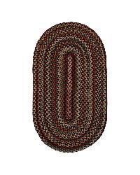 Watch Hill Multi-color Indoor/ Outdoor Braided Rug (2' x 6')